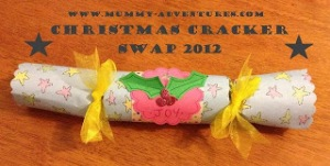 Christmas Cracker Swap Button
