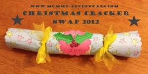 Christmas Cracker Swap Button