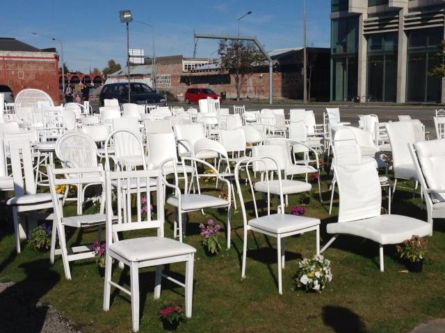 185 Empty Chairs Memorial