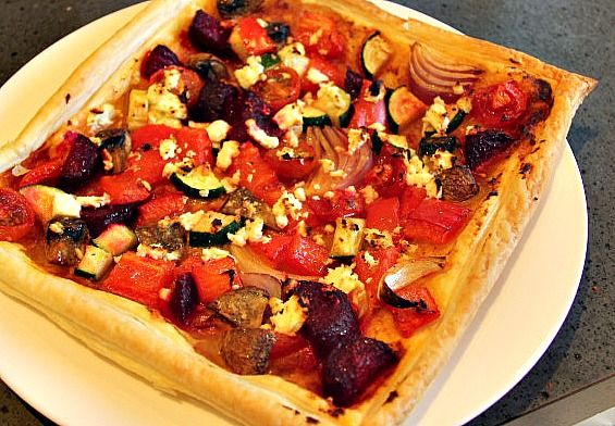 Vege Pastry Squares