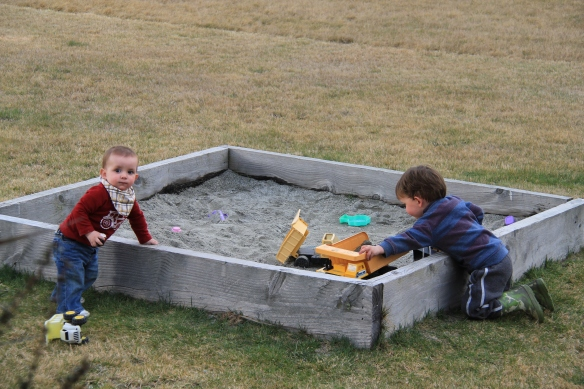 Sandpit Fun