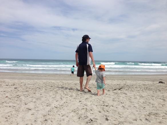 Tomahawk Beach, Dunedin NZ