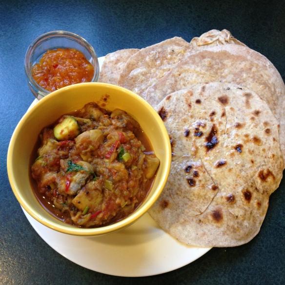 Eggplant & Mushroom Curry