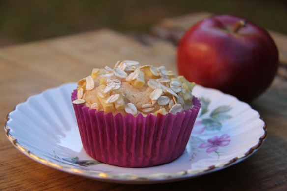 Apple Crumble Muffin