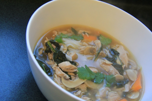 Easy Vietnamese Chicken Noodle Soup (Chelsea Winter)