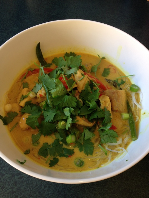 My Chicken Laksa (Chelsea Winter)